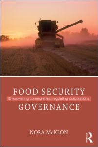 "Cover of ""Food Security Governance"""