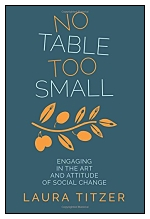 """Cover of """"No Table Too Small"""""""