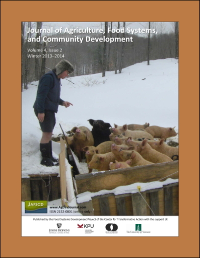 Cover of JAFSCD volume 4, issue 2