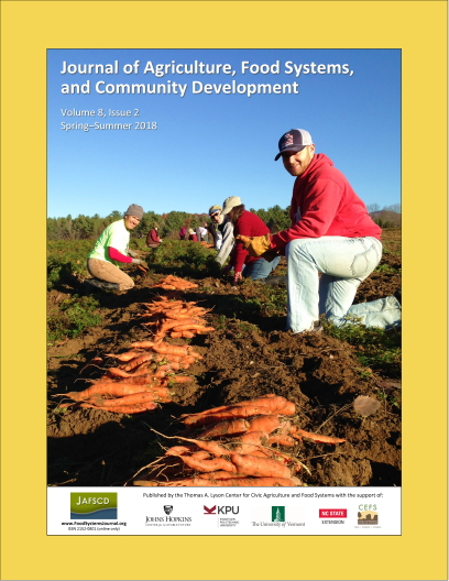Cover of spring-summer issue with carrot gleaners