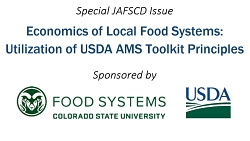 Special issue on Economics of Local Food Systems