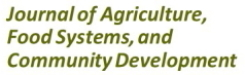 JAFSCD: Journal of Agriculture, Food Systems, and Community Development